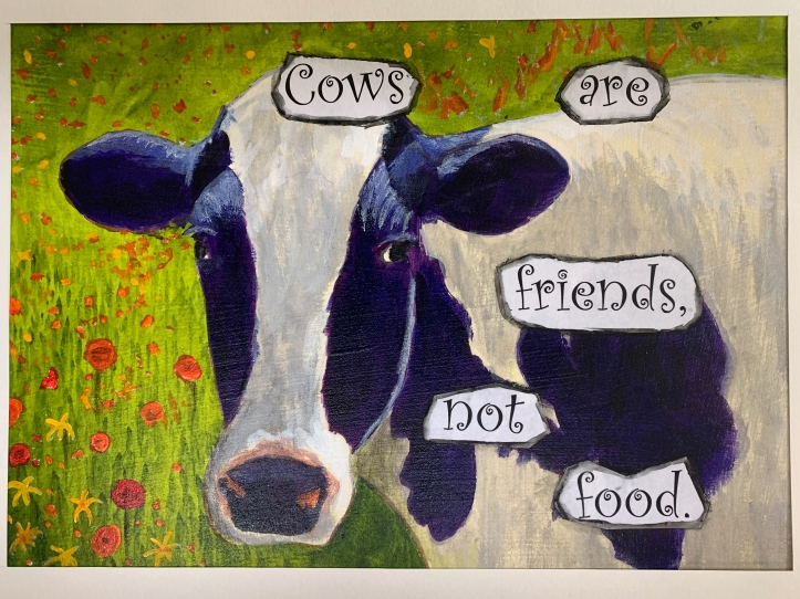 Cows Are Friends, Not Food